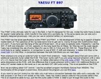 Yaesu FT-897 Review