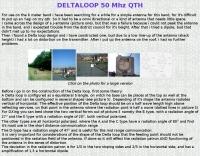 Delta Loop for 50 MHz