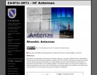 Rhombic antennas