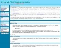 Navtex decoder