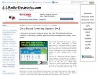 Distributed Antenna System DAS