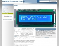 The BBRC Frequency Counter