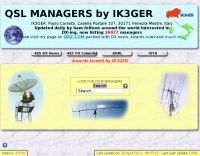 QSL MANAGERS by IK3GER