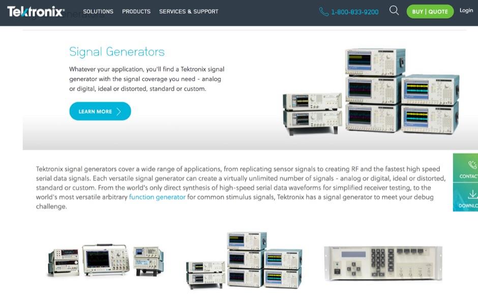 Tektronix - Signal Generator