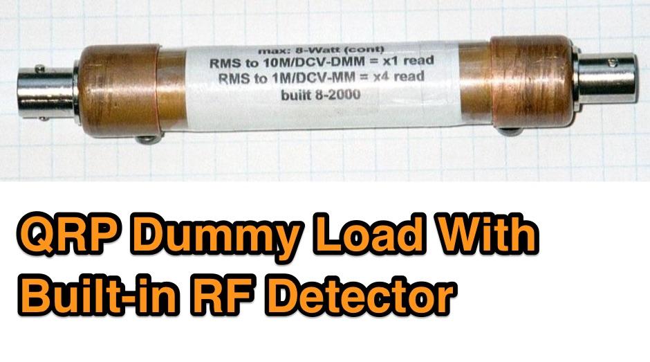 N5ESE QRP Dummy Load