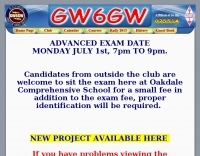 GW6GW Blackwood and District Amateur Radio Society
