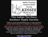 DXZone KD5SDJ Indian Territory  Amateur Radio Society