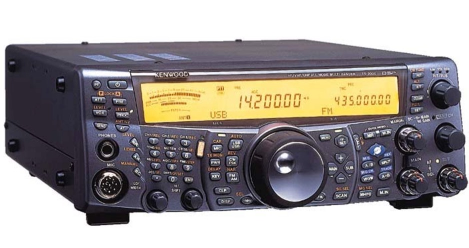 Method for getting a wider TX audio transmission from the Kenwood TS-2000