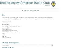 W5BBS Broken Arrow Amateur Radio Club