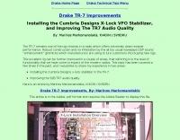 Drake TR-7 Improvements