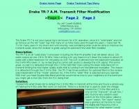 TR-7 Transmit Filter Modification