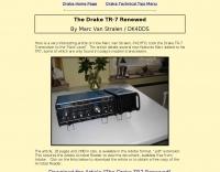 The Drake TR-7 Renewed