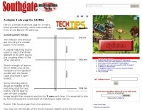 A simple 3 ele yagi for 144Mhz