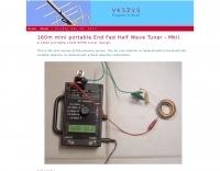 160m End Fed Half Wave Tuner