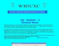 DXZone 2M Moxon antenna