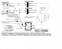 PSK31 interface schematic for Yaesu RTX