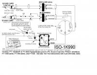 DXZone PSK31 interface schematic for Yaesu RTX