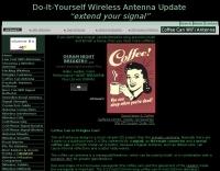 Coffee Can WiFi Antenna