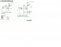 Low Power LF Amplifier