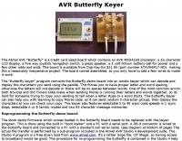 AVR Butterfly Keyer