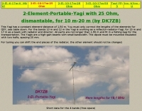 DXZone 2-El Portable Yagi for 10-20 mt
