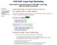 VHF/UHF Long Yagi Workshop