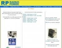 DXZone Radius Power - DC Filters