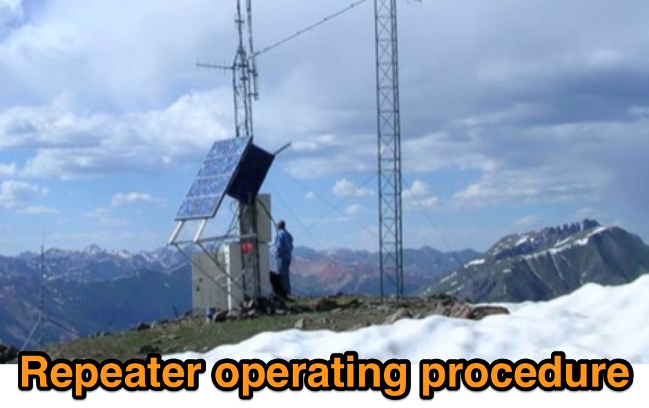 DXZone Repeater operating procedure