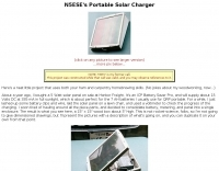 DXZone Portable Solar Charger