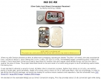 DXZone IN3 DC-RX