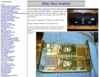 300 W Amplifier for 33 cm band