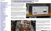 1KW 222 Mhz Amplifier