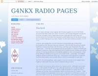 G4NKX RADIO PAGES