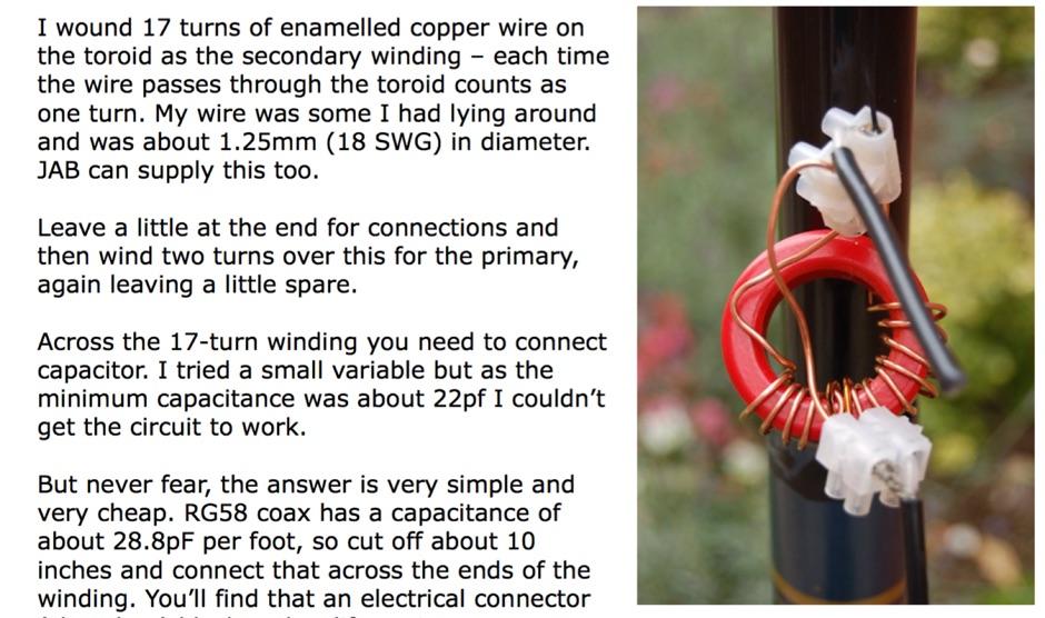 DXZone The EFHW antenna