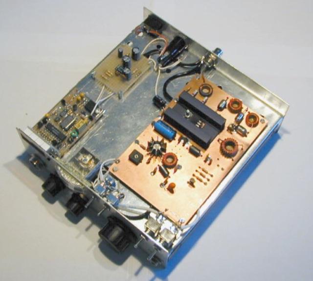 DXZone 80m SSB CW QRP superhet transceiver