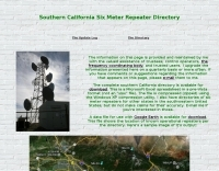 Southern California Six Meter Repeater Directory