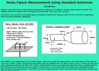 Noise Figure Measurement using Standard Antennas