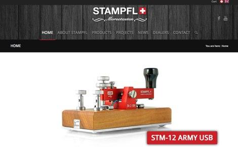 DXZone STAMPFL Morse Keys