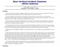 Near Vertical Incident Skywave  Antenna