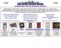 DXZone Code Practice Oscillator Museum