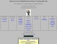 N6QAB Radio Direction Finding Web Site