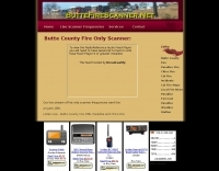 Live Butte County Fire Scanner
