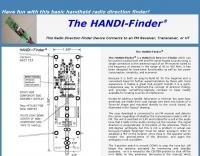 DXZone The HANDI-Finder