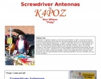 K4POZ Screwdriver Antennas