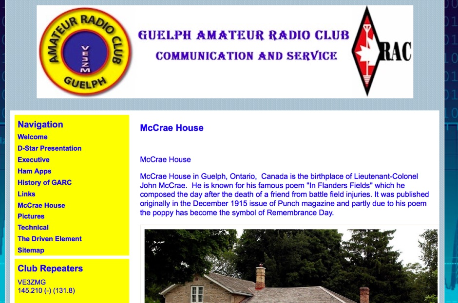 Guelph Amateur Radio Club