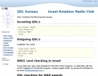 Israel QSL Bureau