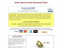 DXZone K4EAA Kenwood Parts