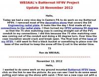 Butternut HF9V Project
