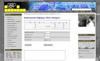 DXZone Highpass filter calculator