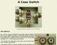 RF Coaxial Switch